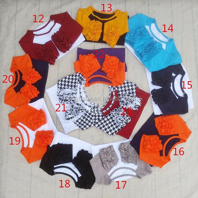 d64f98e1 Baby Fall Cotton Shirt Long Sleeve Girls Clothes Ruffle Raglan Girls Blank Ruffle  Sleeve T Shirt
