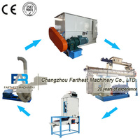 Small Size Mini Pellet Feed Mill Plant for Laying Hens