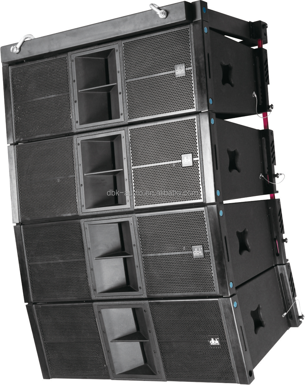 Dual 12 Inch High Power 600 Watts Concert Speaker System El-212 ...