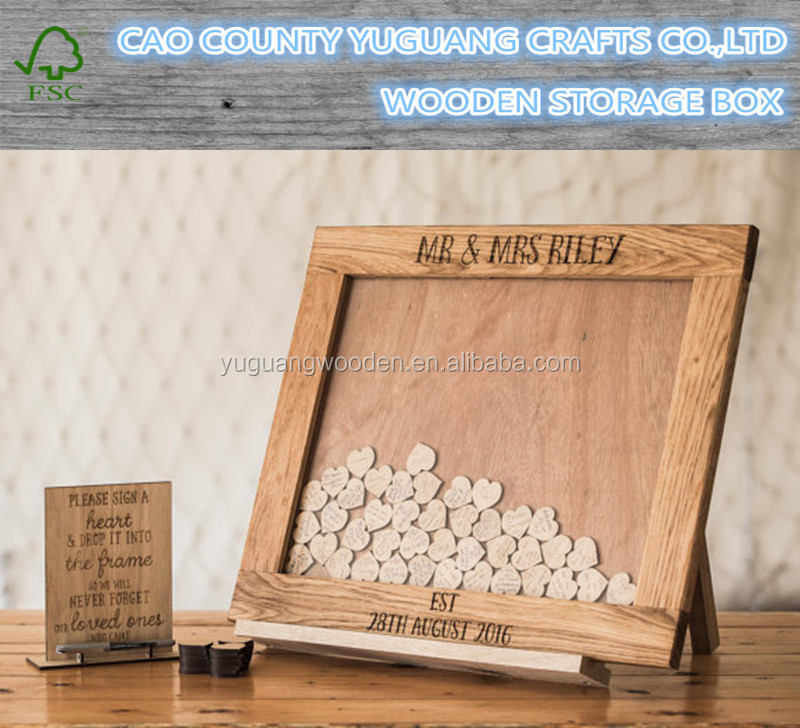 Wedding Guestbook Alternative, Heart Drop, Drop Box, Guest Book