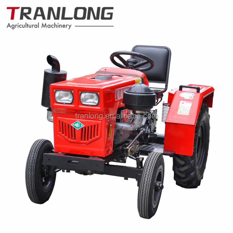 24HP new condition wheel/farm tractor usage belt drive single cylinder diesel engine agricultural machinery mini farm tractor