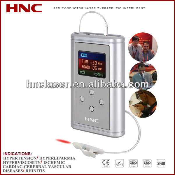 HY05-A nasal type 650nm low level laser light health care product for cardiovascular diseases
