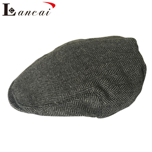 44c82759b1810 2018 Hot sale autumn and winter wool outdoor beret baker hats man casual  flat cap for