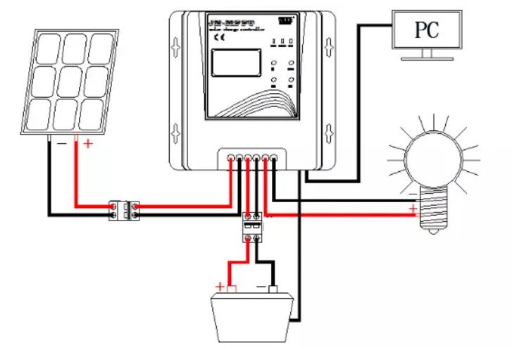 high efficiency 12v 24v 48v mppt solar panel charge