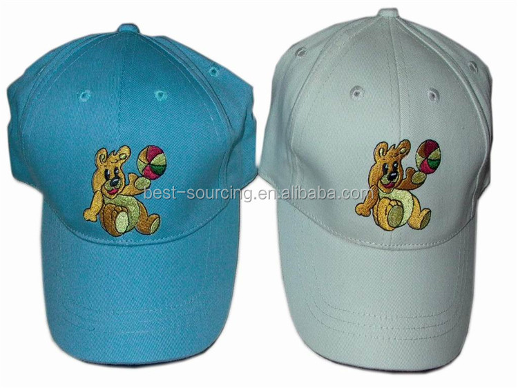 Top Quality Embroidered Promotion Custom childen baseball caps uk