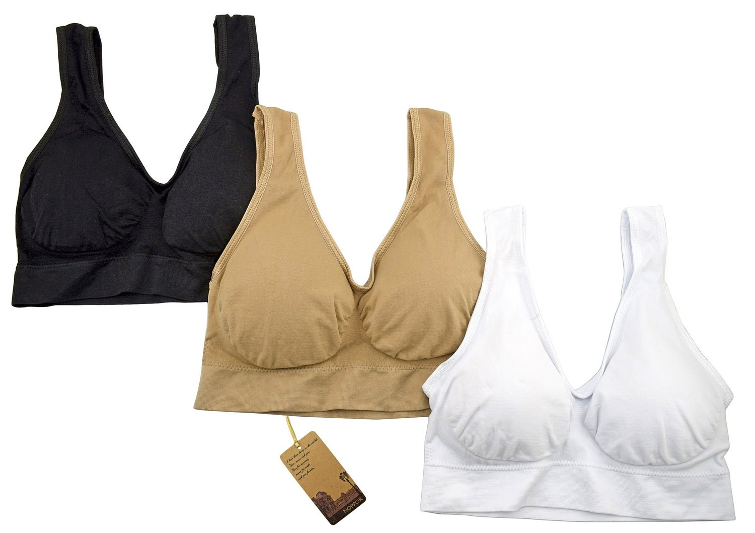 f21553a92454c Get Quotations · Wirefree Sports Bra Seamless Yoga Bra with Removable Pad  Comfort Body Shaping