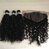 100% Virgin Hair Water Wave With Closure Love Hair Products Human Hair Weave 3 Bundles With Lace Closure4*4 Natural Ocean Wave