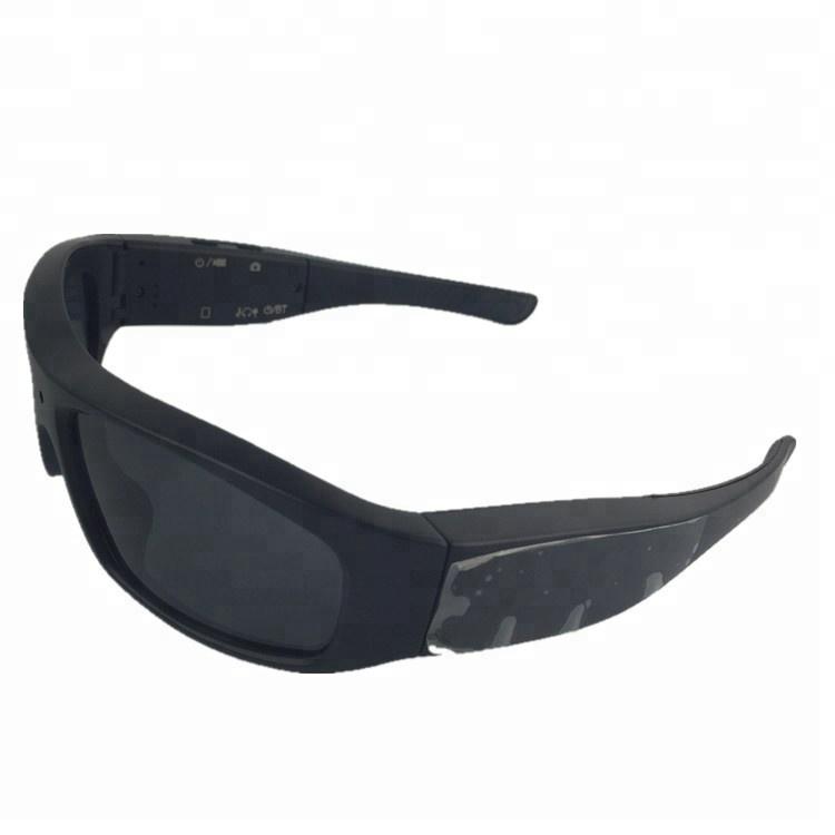 8d87ecbe97f84 Oem cctv security camera BT fone de ouvido óculos de sol okey  sunglasses720p câmera pinhole