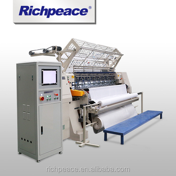 Richpeace Computerized Multi-needle Shuttle Lockstitch Quilting Machine