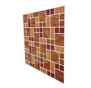 Marble Look Peel and Stick Tile Backsplash, Stick on Wall Tile for Kitchen  & Shower Backsplash