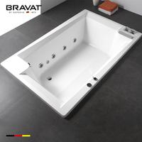 Alibaba china supplier indoor massage enameled cast iron bathtub B25904W-4
