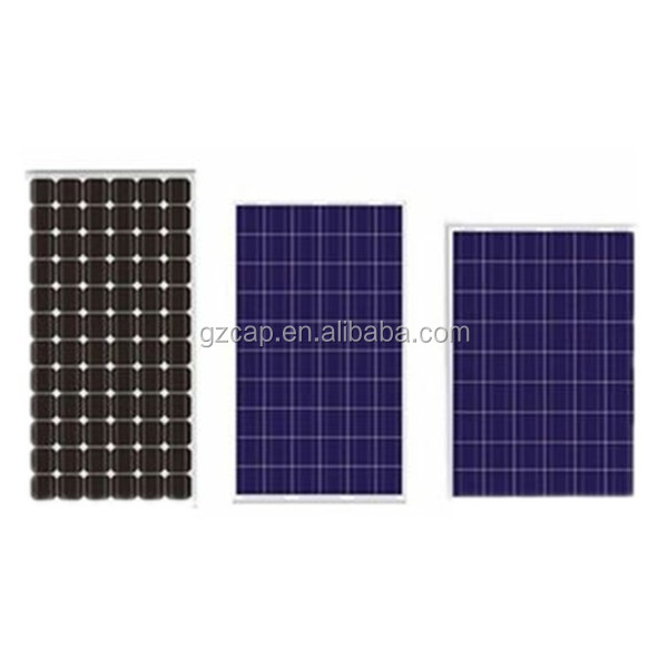 high working rate mono and poly solar panels for house