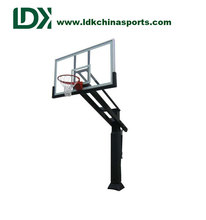 Adjustable Basketball Stand Inground Basketball Hoop System Wholesale Mini Basketball Hoop Outdoor