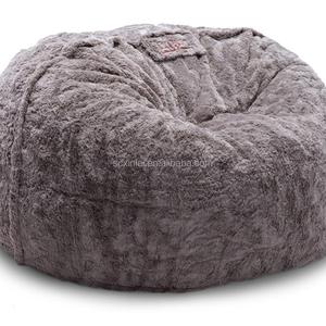 Excellent Monster Bean Bag Faux Fur Beanbag Flokati Lazy Bag Sofa Sitzsack Evergreenethics Interior Chair Design Evergreenethicsorg