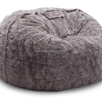 Monster Bean Bag Faux Fur Beanbag Flokati Lazy Sofa Sitzsack
