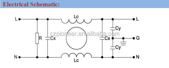 Pe2102 10 01 Ce Certification Low Pass Emi Filter 120