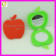 promotional gifts folding silicone make up mirror hot sale good quality lady silicone cosmetic mirror with apple shape