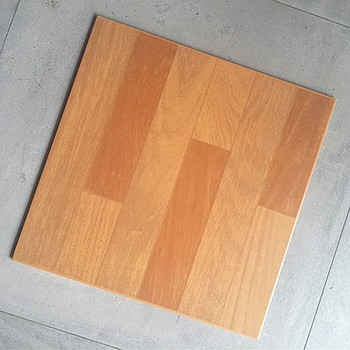 400x400 rustic glazed porcelain tile wood look ceramic flooring