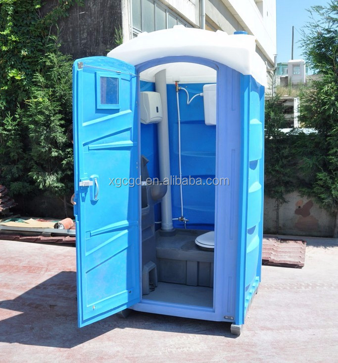 Outdoor Camping Mobile Plastic Portable Chemical Toilet