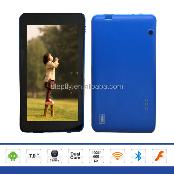 7 inch capacitive touch screen Rockchip3126 quad core Android 4.4 WIFI Bluetooth tablet pc