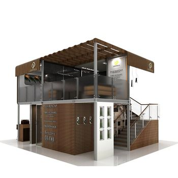 Shipping Container Cafe Bar Design Bars Prefabricated Pop Up Coffee ...