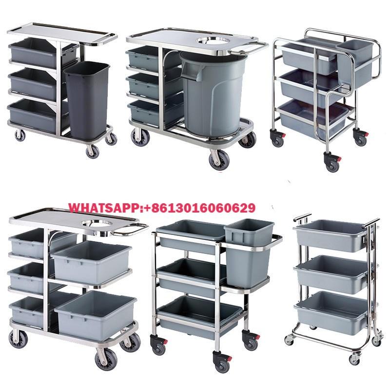 Restaurant Cheap 3 Tier Modern Stainless Steel Kitchen Storage