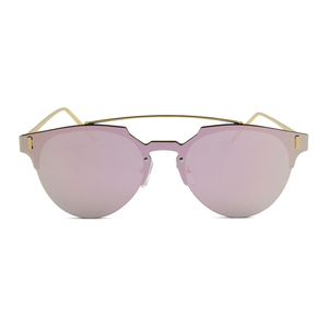Alibaba China Double Bridge one-piece lens CE Sunglasses For Girls.
