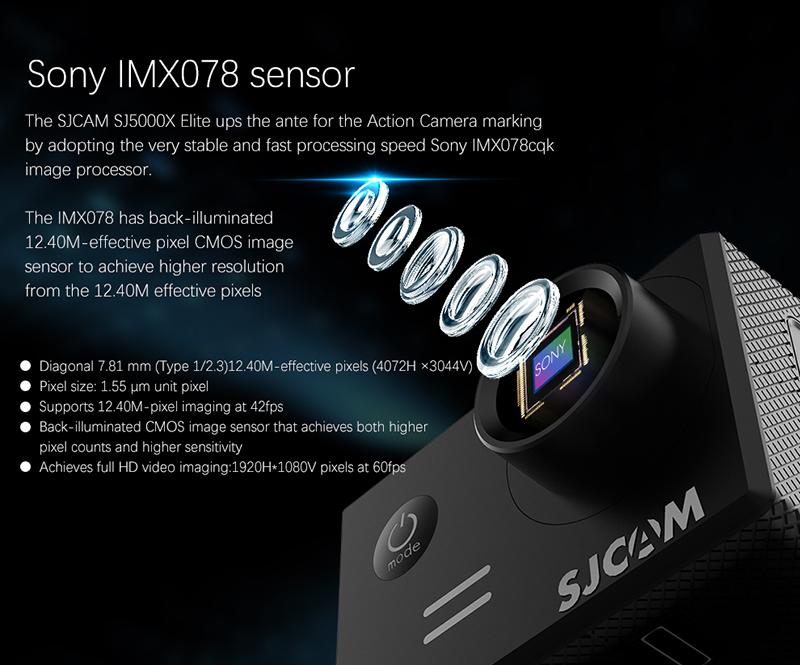 Sjcam Sjcam Sj5000x Elite Mini Fashion Slow Motion Real Action Camera 4k  Sports Camera - Buy Sjcam Sj5000x Elite,Action Camera 4k,4k Sports Camera