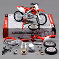H CRF450R Motorcycle Model Building Kits motorcycle model building kits 1 12 assembly toy kids gift