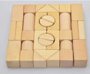 Develop Intellectual Wooden Building Blocks Toys Buy Building