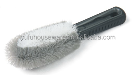 car wheel cleaning nylon wire brush