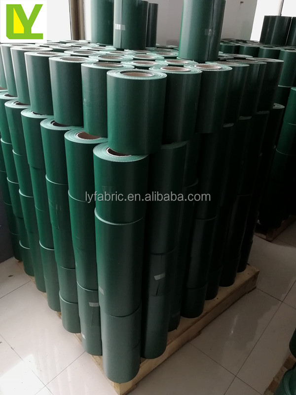 protective vinyl pvc tarps strip rolls for privacy fence