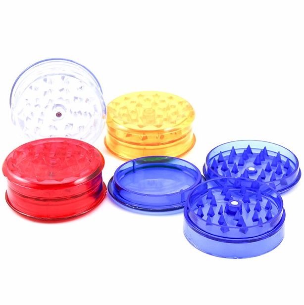 Plastic Grinder Manual Dry Herb Grinder Wholesale