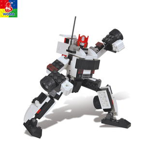 Wholesale A huge castle new style deformed robot toy