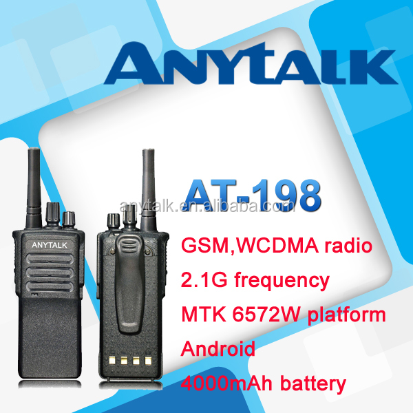 Anytalk GSM WCDMA, AT-198 two-way radios