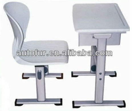 Modern Adjustable School Single Desk And Chair