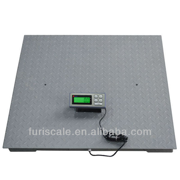 Furi DBC mechanical 60 ton truck scale with antiskid big plat and high precision load cell