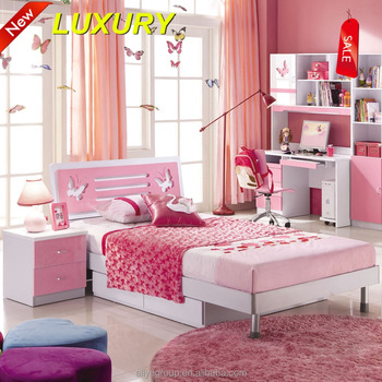 Simple Bedroom With Single Bed 320- simple and latest wooden single bed for kids bedroom