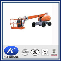 Top sale GTQZ16 series self-propelled articulating mini boom lift