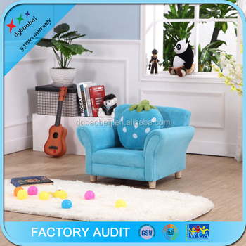 Kids Furniture Sellers Blue Strawberry Kids Flip Out Sofa