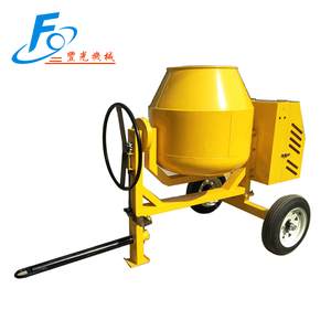 260L diesel engine portable small chamical materials particles mixer machine from factory