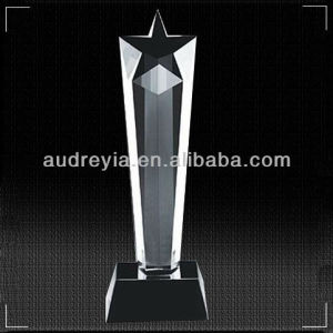 Audreyia crystal showpiece of crystal award saling