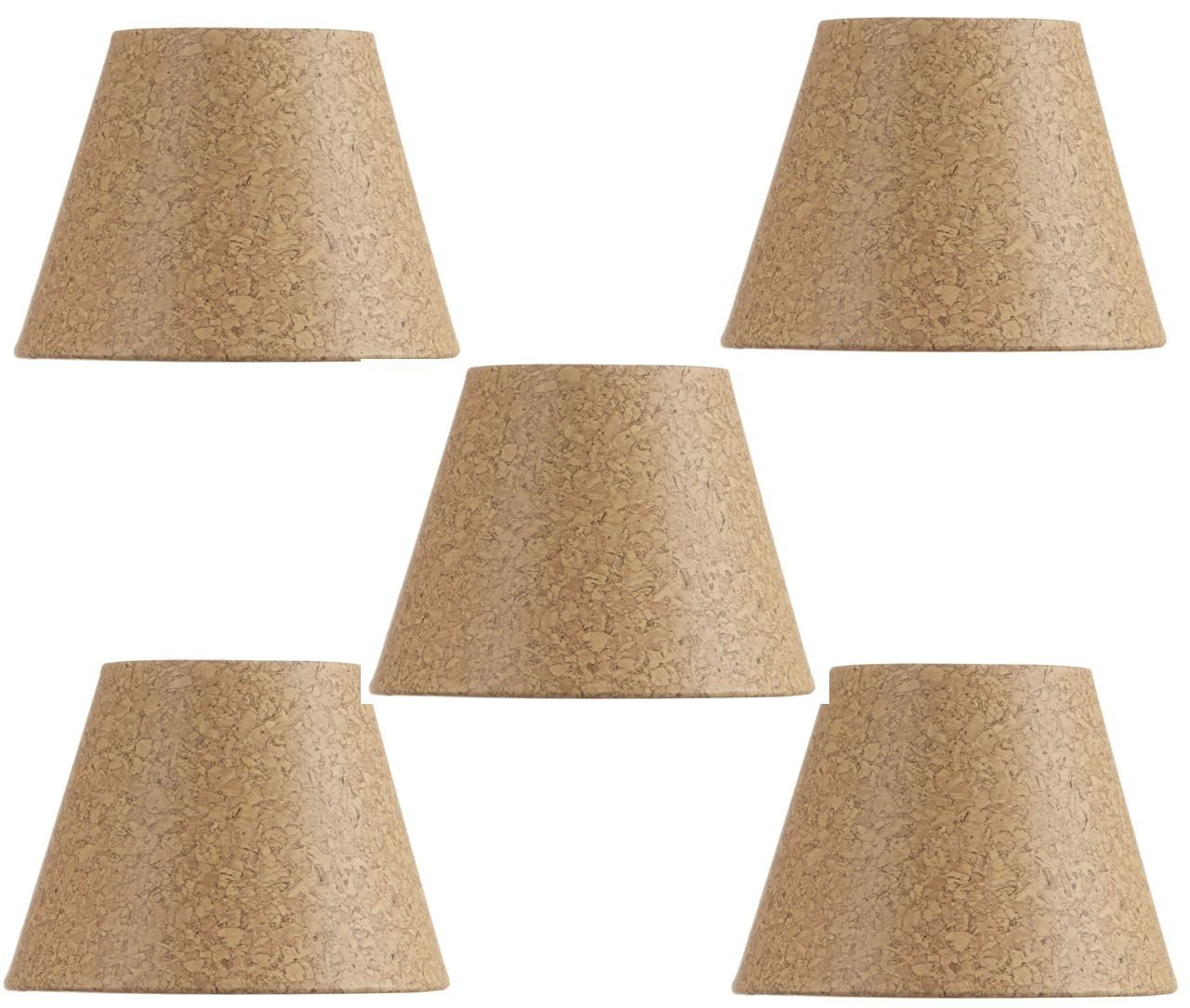 Cheap clip shades find clip shades deals on line at alibaba guide to shades mini chandelier shades clip on small lamp shades set of five natural cork aloadofball Gallery