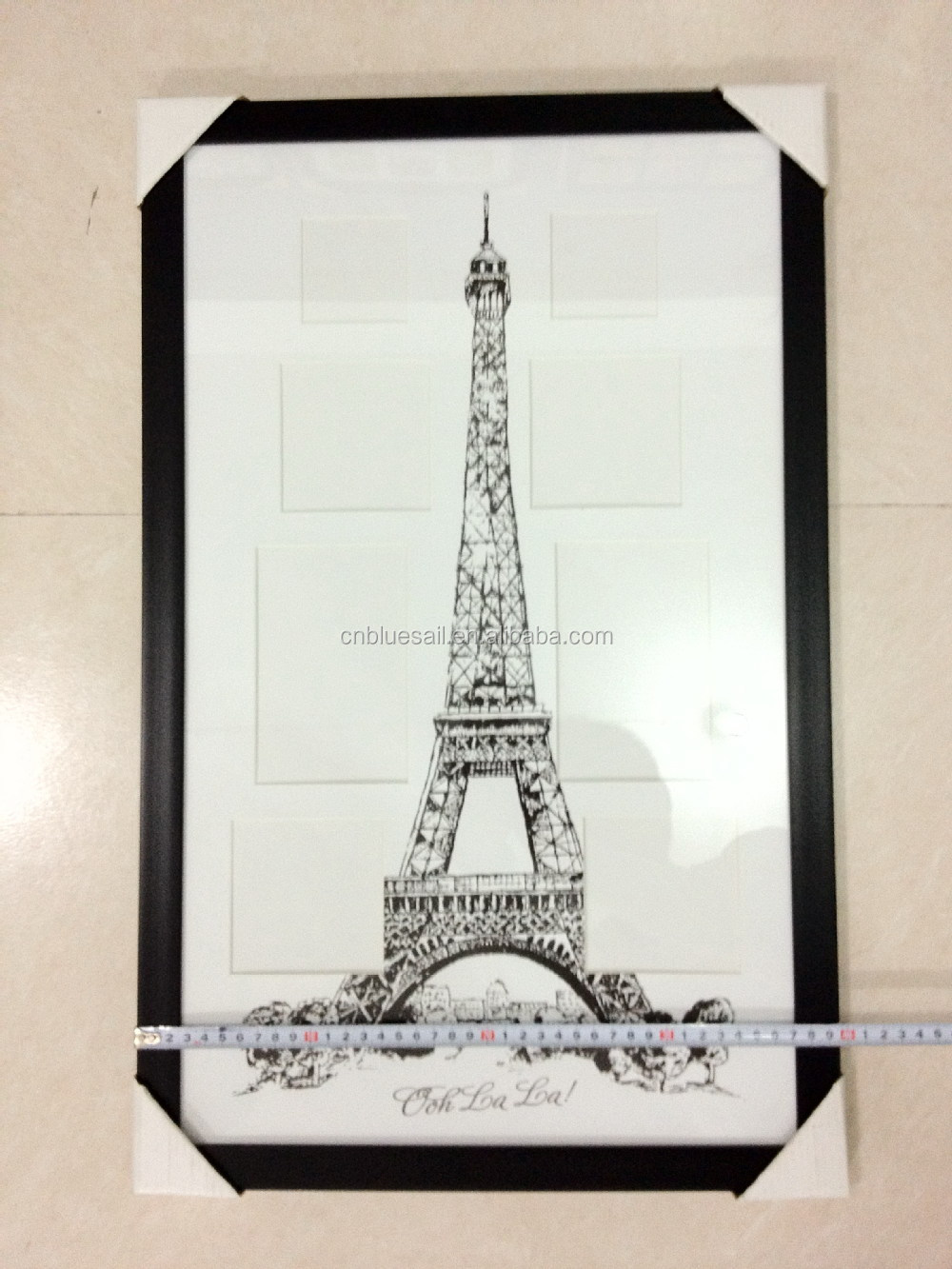 Black ps frame for picturedry mount picture framesscenic frame black ps frame for picture dry mount picture frames scenic frame by eiffel tower jeuxipadfo Images
