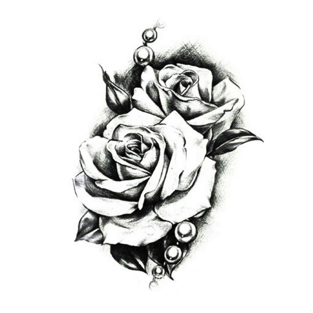 Cheap Black And White Rose Tattoo Designs Find Black And White Rose