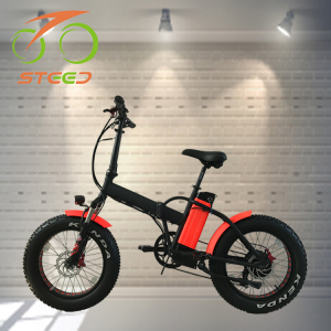 48 v fat tyre beach electric bike folding e bicycle for customized