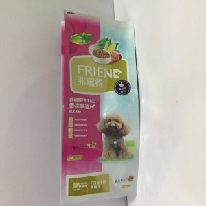 Keen-size high quality wholesale price plastic side gusset coffee bean bag