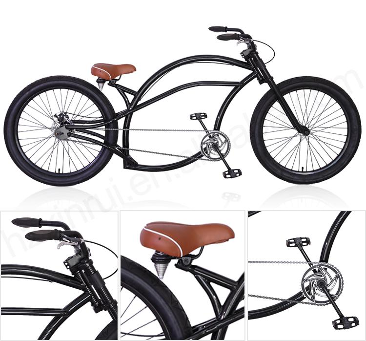 Custom Wholesale Cheap 24 Inch Steel Chopper Bicycle Chopper Bike ...