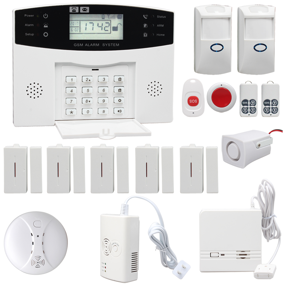 Security System Lcd Wired, Security System Lcd Wired Suppliers and ...