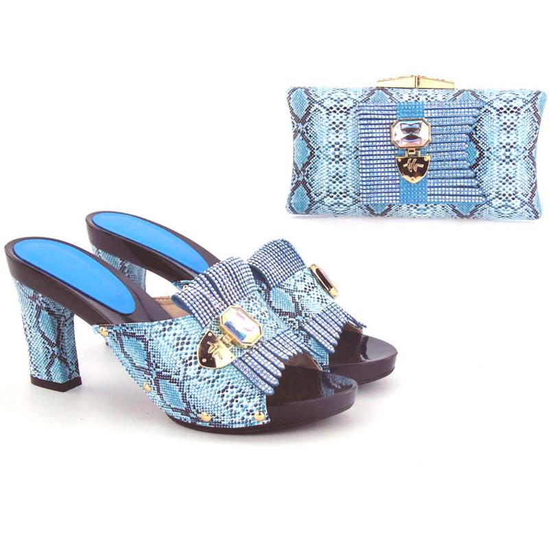 charming bag Sinyafashion italian party and matching shoes set women vwwTqZxU